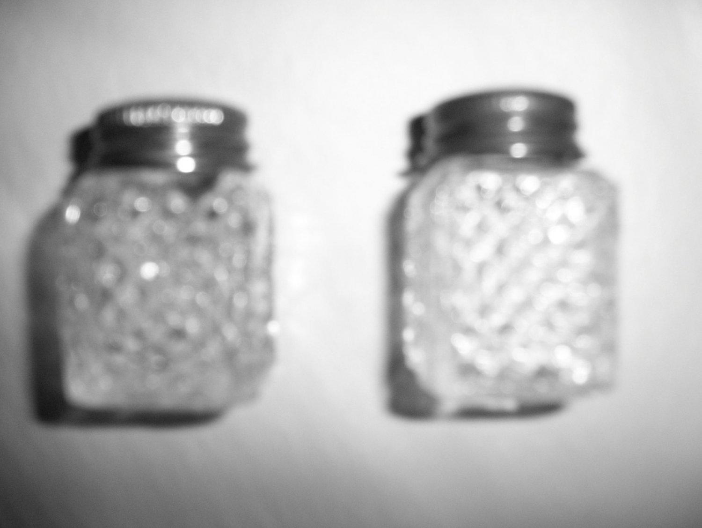 Small Set Salt Pepper Shakers