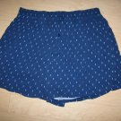 Men's Volley Shorts XL Navy w Diamond Pattern
