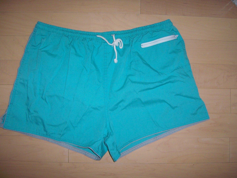 Men's Swim Suit XL Turquoise