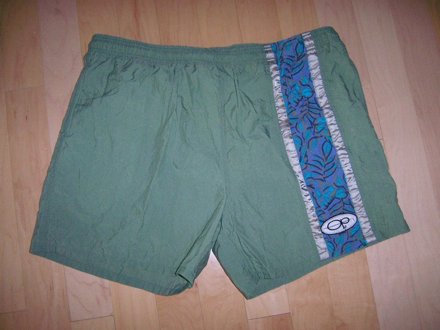 Men's Swim Suit XL Green