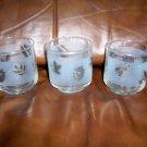 Set Of Two Juice Glasses  8 oz