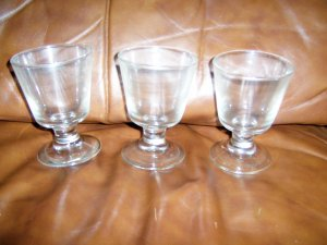 Bar Glasses Set Of Three 8 oz.