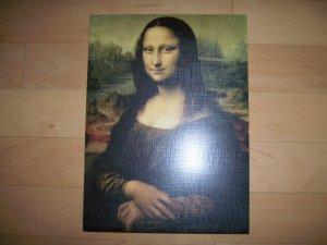 """Mona Lisa"" Reproduced Picture"