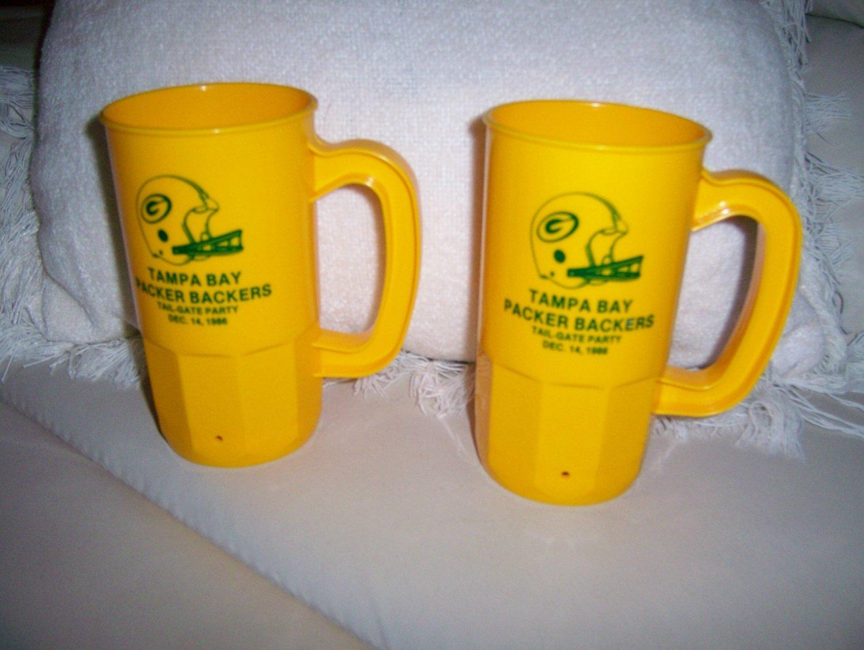 Packer Backer Mugs Set Of Two BNK133