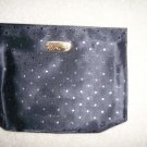 Black Clutch Purse W White Star Designs BNK153