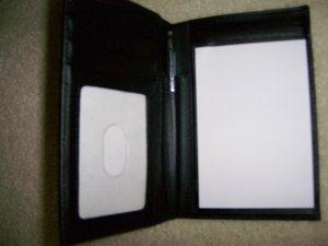 Note & Card Packet Black BNK154