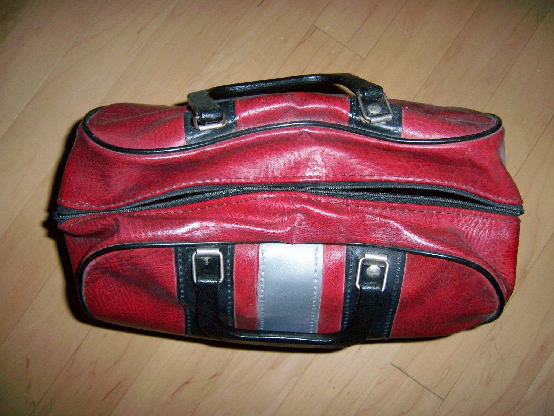 Red/Gray Bowling Bag BNK173