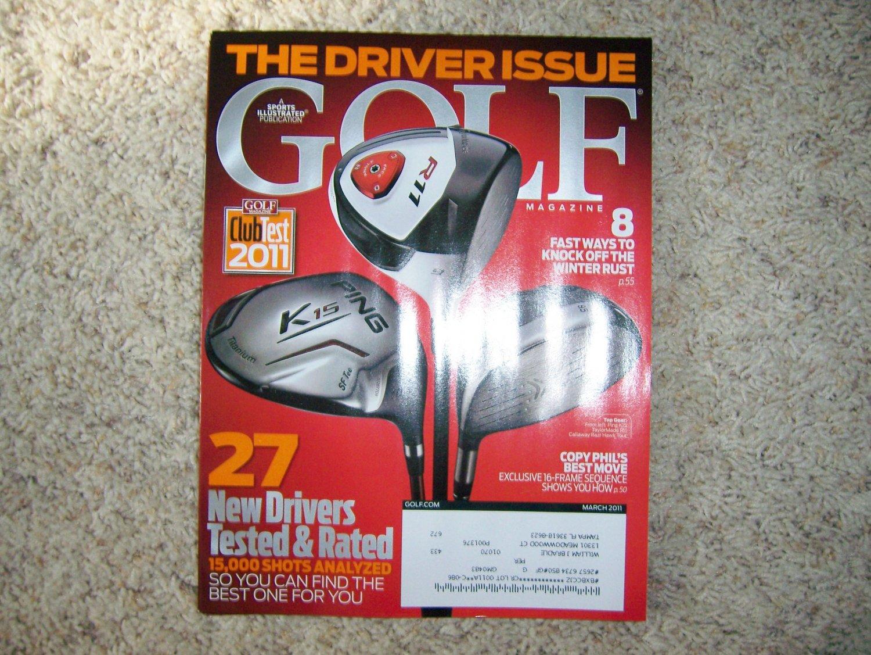 Golf Magazine March 2011 BNK183