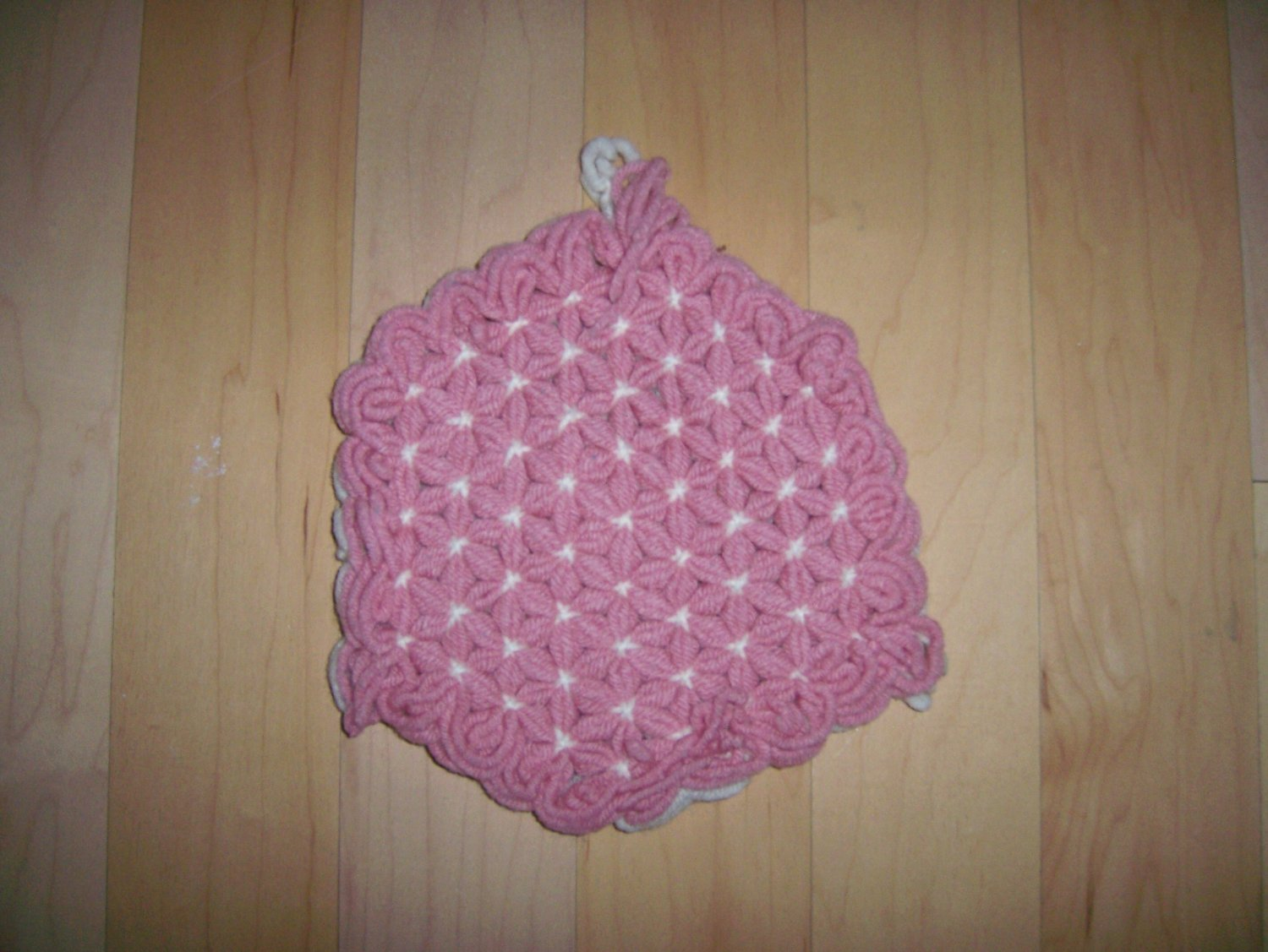 "Pot Holder Knitted  7"" BNK188"
