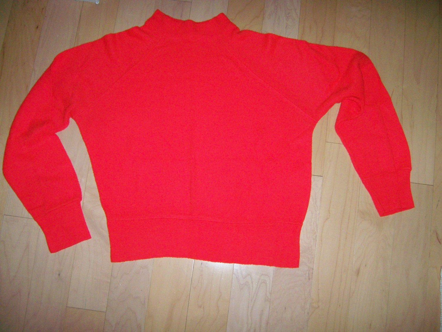 Red Sweater Long Sleeves Size 34 BNK207