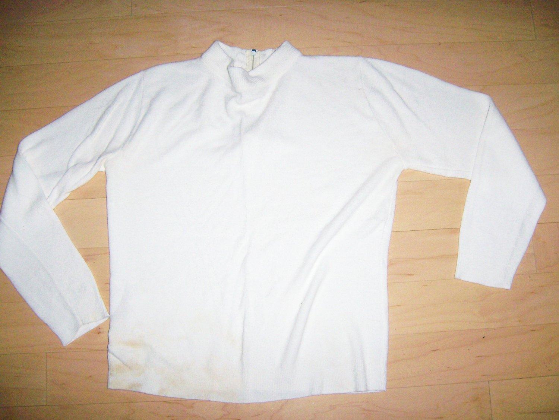Sweater White Size 34 BNK208