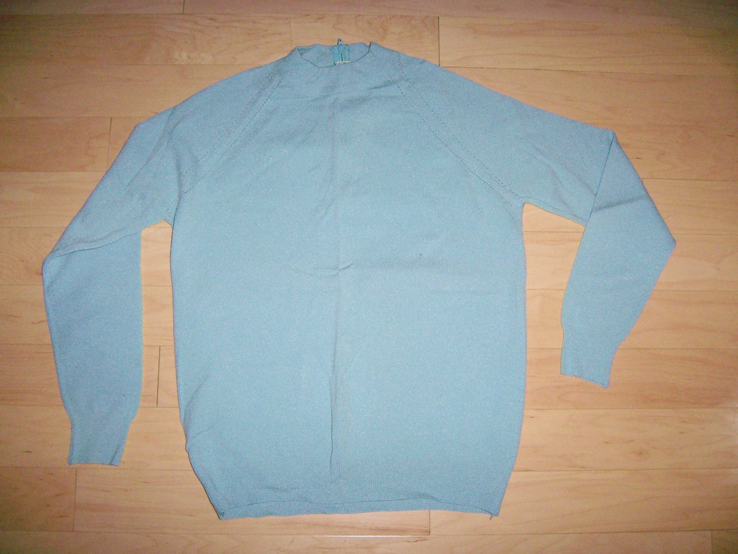 Sweater Light Blue Long Sleeves Size 34 BNK212