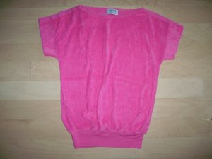 Light Fushia Cap Sleeve Top Size 36