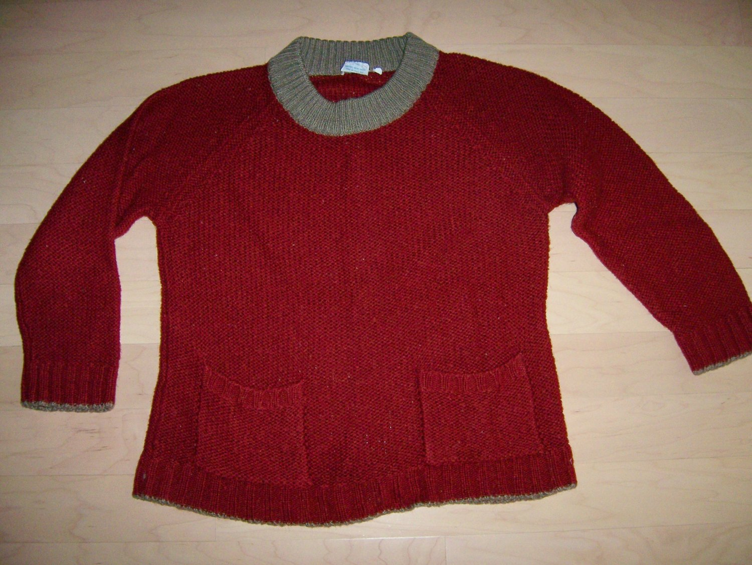 Sweater Long Sleeve Marroone Size 36