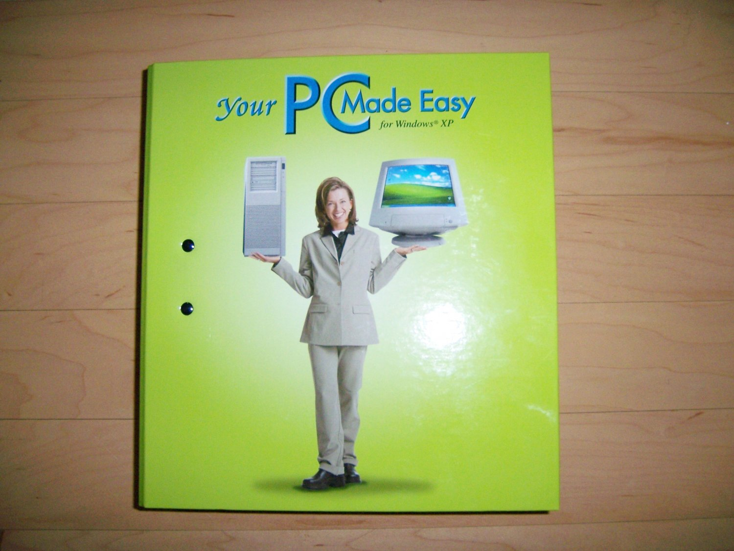 PC Made Easy Information Binder BNK224