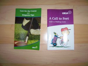 Golf Care Course & Call To Feet BNK225
