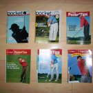 6 Pocket Sized Golf Tips Booklet BNK234