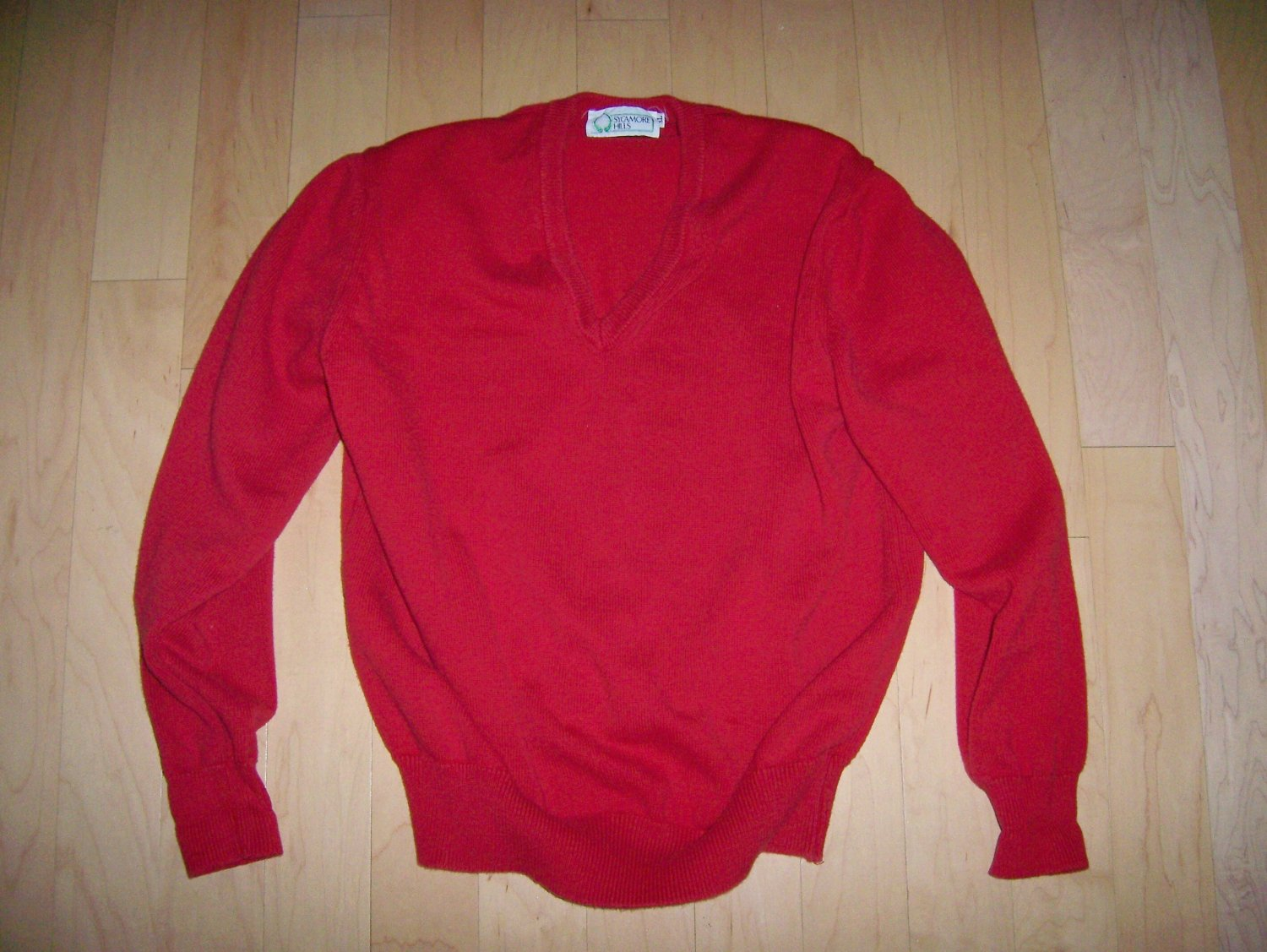 Sweater Red Long SleevesbySycamore Hills XL  BNK244