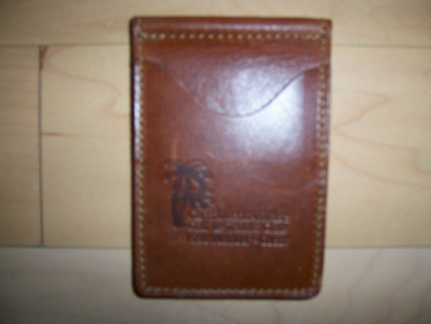 Money Clip Case  Brown Leather BNK252