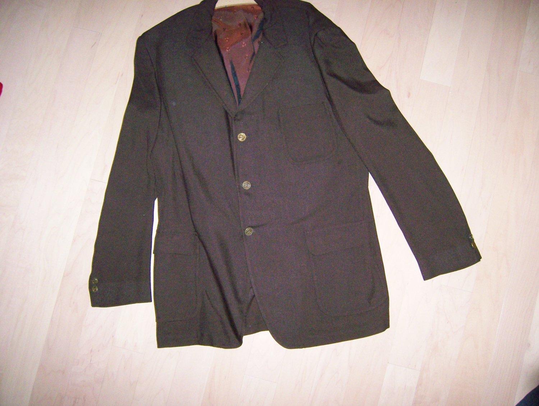 Sports Coat/Blazer Brown Size 44 Long BNK267