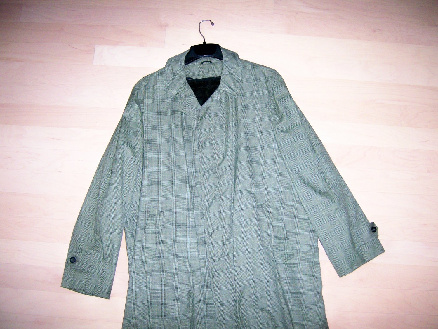 Men's Overcoat Light Green  Size 48  BNK277