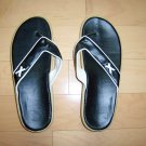 LAdies/Misses Thongs Blk/White Size 7 BNK283