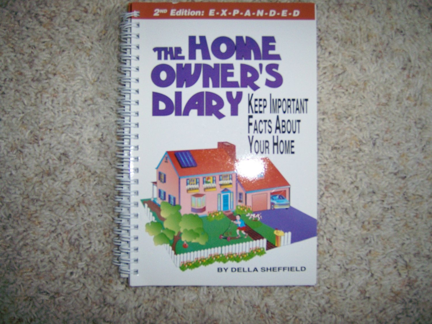 Home Diary Ledger Space To Record All Information BNK294