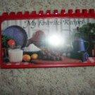 My Favorite Recipes Booklet & Display BNK295