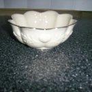Lenox White Porceleon 5x2 Serving Bowl BNK435