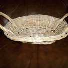 Wicker Basket w Handles  16&quot;x11&quot; BNK436