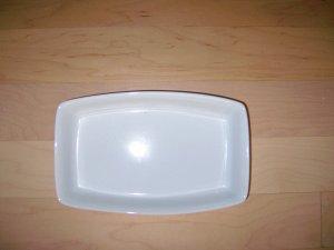 Oblong White Porceleon Backing/Serving Dish BNK429