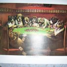 Picture Eight Dogs Playing Poker Ready To Frame BNK463