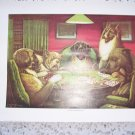 Dogs Playing Poker Lassie Watching BNK464
