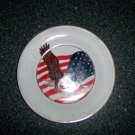 Collectors Porcelain American Eagle Plate BNK516