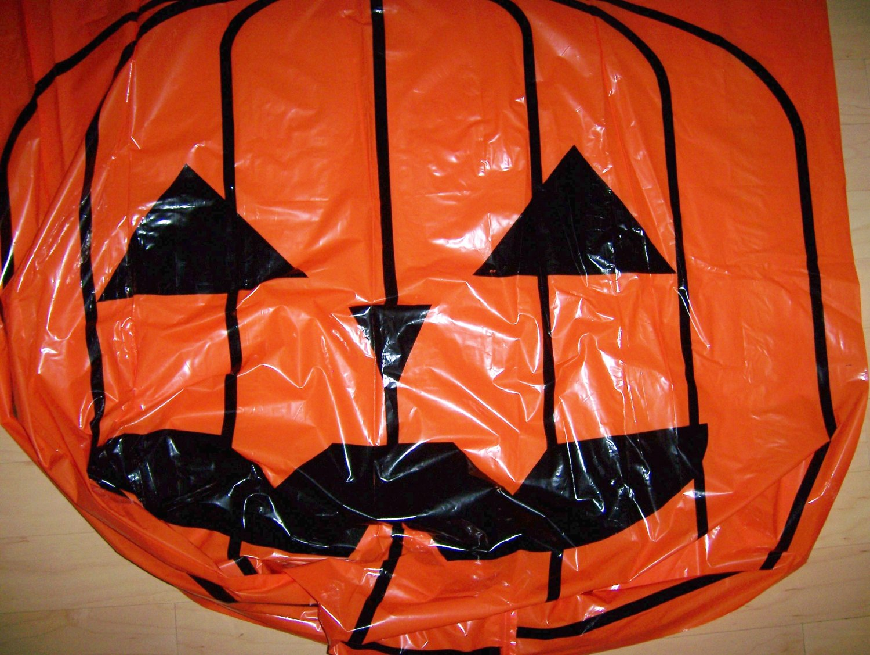 Stuffable Pumpkin Lawn Etc Decoration Halloweeen & Thanksgiving  BNK581