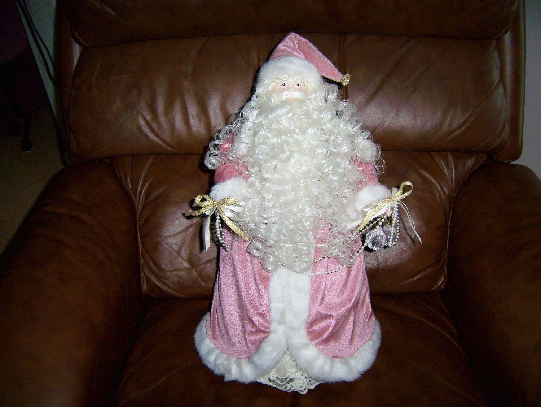 "Santa Doll 19"" Tall Elegantly Dressed  BNK585"