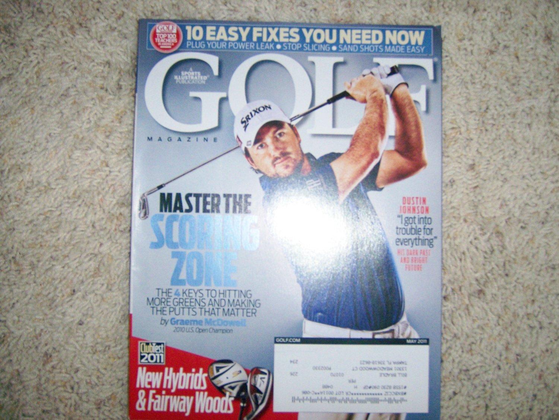Golf Magazine May 2011  BNK587