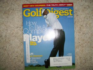 Golf Digest Magazine Jan 2005  BNK591
