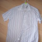 Men's Short Sleeve Striped Shirt BNK598