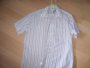 Men's Short Sleeve Striped Shirt BNK598