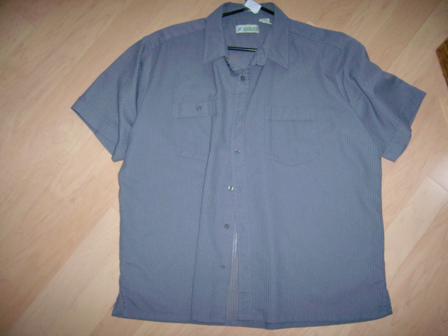 Men's Short Sleeve Grey Shirt by Haband  BNK602