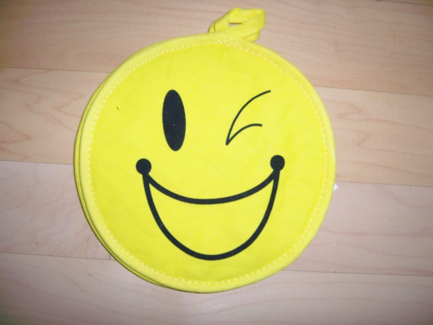 Set Of Two Smiley Faces Pot Holders BNK608