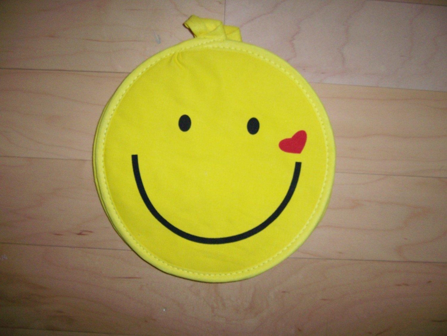 Set Of Two Smiley Faces Pot Holders BNK609