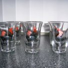 Juice/Shot Glasses Roasteer Design Set Of 6  BNK646