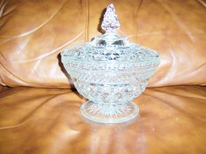 Candy/Nut Bowl Crystal BNK652