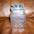 Decorative Glass Decantor  w Cover BNK663