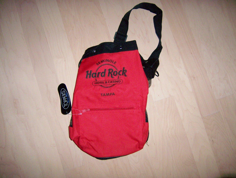 Travel/Beach Bag Hard Rock Casino Logoed BNK689