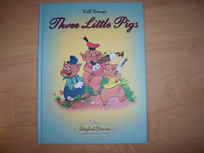 "Walt Disney ""Three Little Pigs"" BNK697"