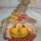 Pumpkin Cheerful Greeting For Halloween & Thanksgiving BNK730