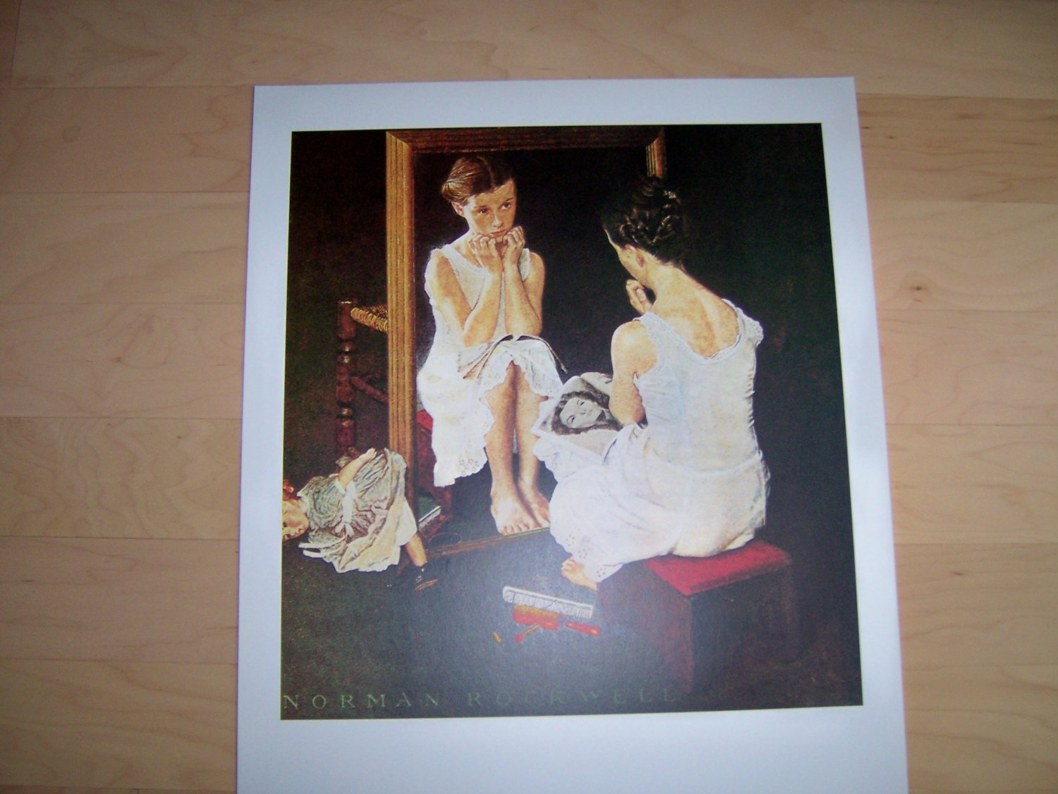Norman Rockwell's Girl At Mirror BNK731
